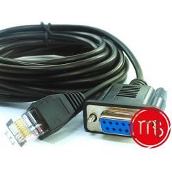 Monetique et services-Cordon de liaison pour terminaux de paiement vérifone V 200 et caisse enregistreuse.