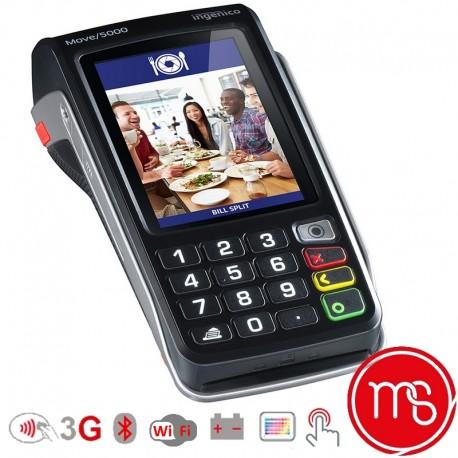 TPE Ingenico Move 5000 3G/ BEM WIFI