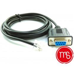 Monetique et services-Cordon de liaison pour terminaux de paiement ICT 250 et caisse enregistreuse.