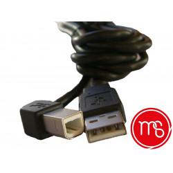 Monetique et services-Cordon de liaison pour terminal de paiement ICT 250 et caisse enregistreuse (USB).
