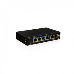 SWITCH ETERNET POE6 PORTS (4+2)