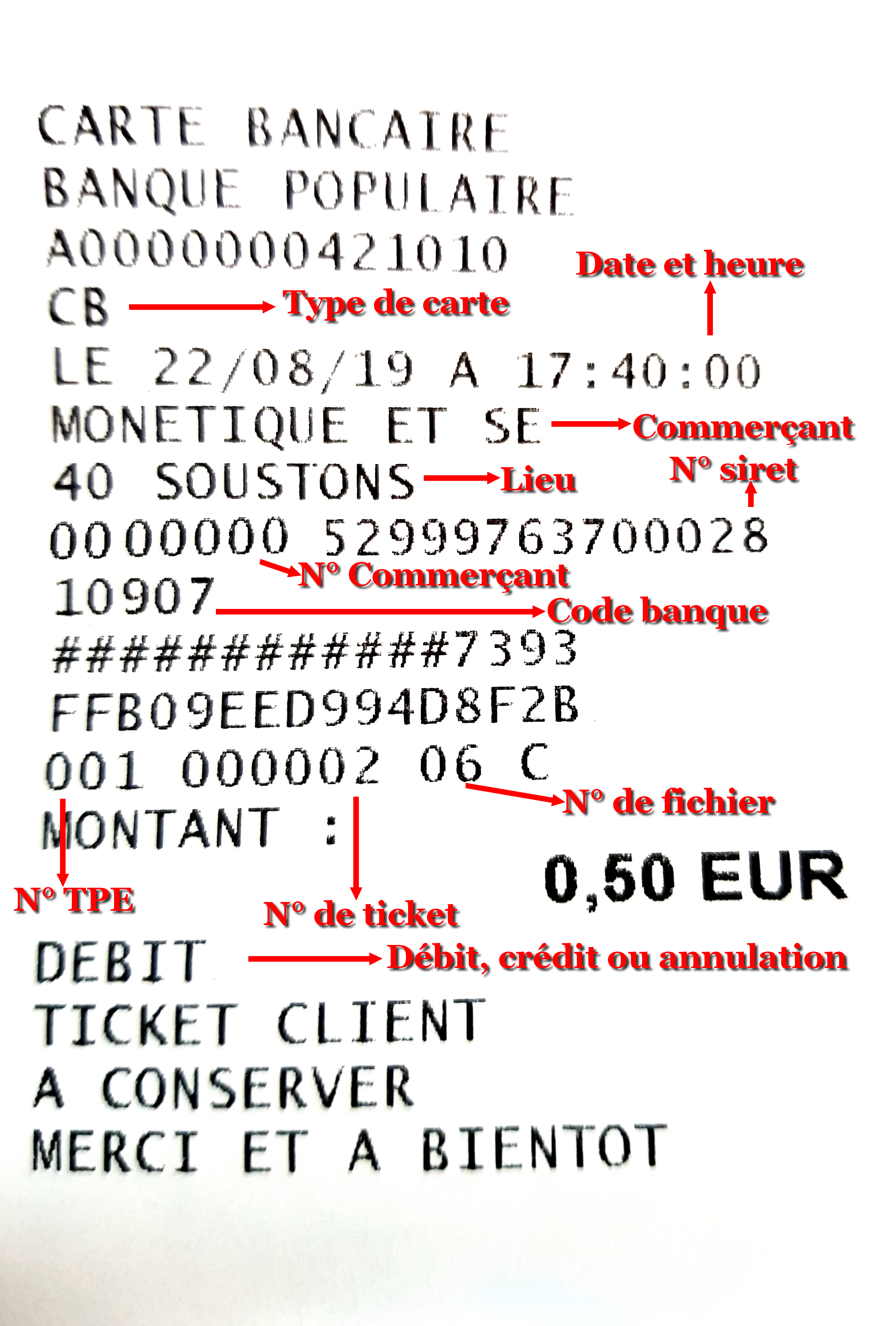 Ticket CB