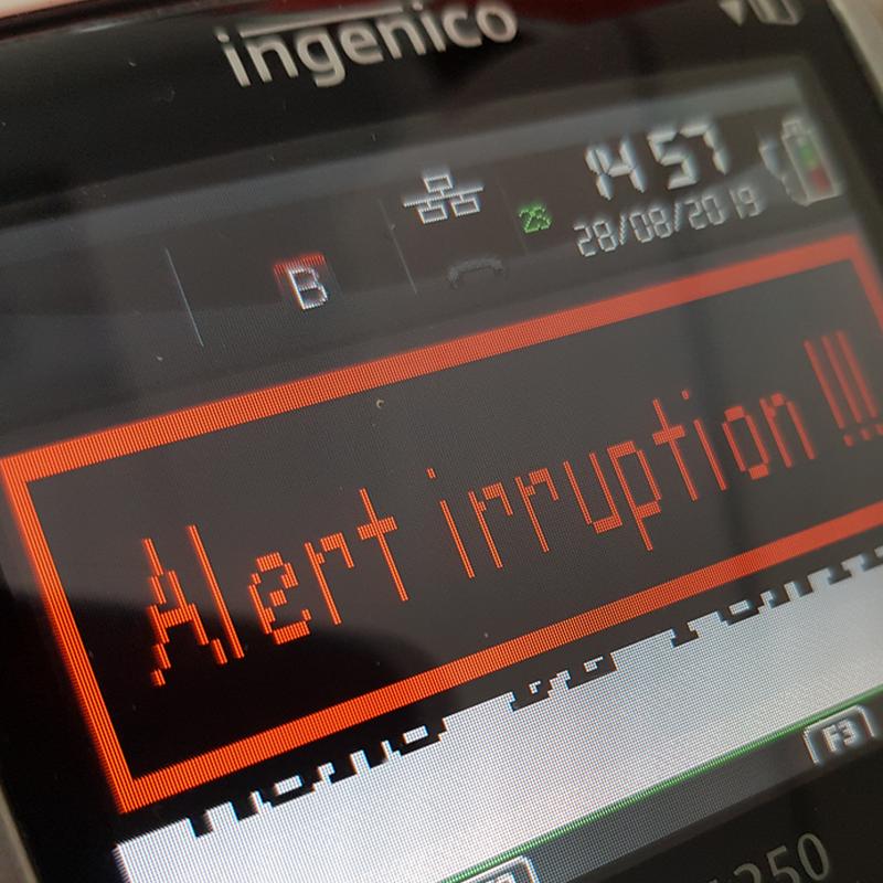 Alerte irruption IWL 250